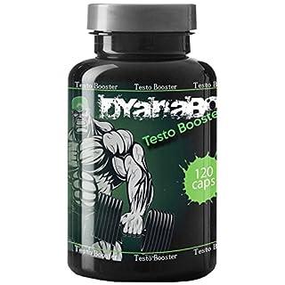 Dyanabol Testo Booster 120 Kapseln VargPower | Natürlicher Testosteron Booster | Bodybuilder Männer | Markenartikel | Hochdosiert | Nahrungsergänzungsmittel | Hohe Reinheit Qualität