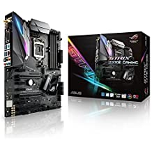 Asus ROG STRIX Z270E GAMING - Placa base (4 x PCIe 3.0, chipset Z270, LGA 1151, 6 x SATA III, WiFi ,HDMI, 6 x USB 3.0, Intel HD Graphics, DDR4-3866 Mhz)