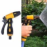 Garten Schlauch Spritzpistole–Düse Wasser Rohr Spritze High Druck einstellbar Bewässerung Pistole für Garten Auto Reinigung Löschen