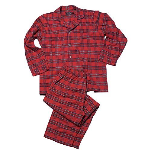Irischer Schlafanzug aus Baumwollflannel für Damen und Herren