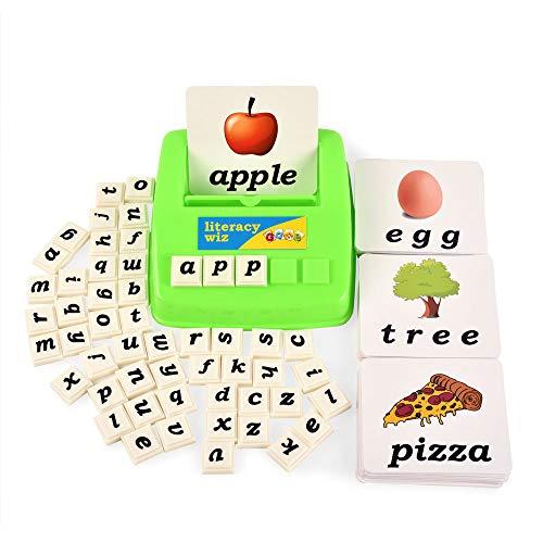 BOHS Literacy Wiz Fun Game - Kleinbuchstaben Sight Words - 60 Lernkarten - Lernspielzeug für Kinder im Vorschulalter (Für Lernspielzeug Kinder Im Vorschulalter)