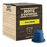 Note D'Espresso Preparato Solubile per Bevanda al Gusto di Tè al Limone - 320 g (40 x 8 g) Esclusivamente Compatibili con le macchine per caffè a capsule Nespresso*