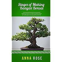 Stages Of Making Banyan Bonsai (English Edition)