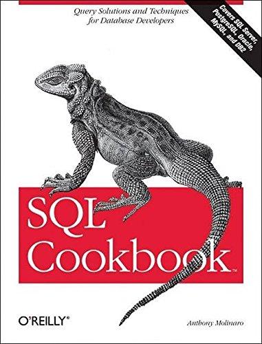 [(SQL Cookbook)] [By (author) Anthony Molinaro] published on (January, 2006)