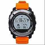 Aktivität Tracker,Bluetooth 4.0 GPS Sport smart Uhr,Digital Smart Watch,Schrittzähler Verfolgung Kalorien Gesundheit,Kompatibel mit Android und iOS System für Surfen,Kajak,Rafting,Segeln,Wandern,Camping,Angeln und Sport Adventurer