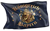Original RAHMENLOS® Design-Flagge für den Bayern Fan: Königreich bayern