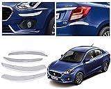 #8: VAIBN - Superior Quality Chrome Plated Car Bumper Protector Guard Moulding for - Maruti Suzuki Swift Dzire 2017