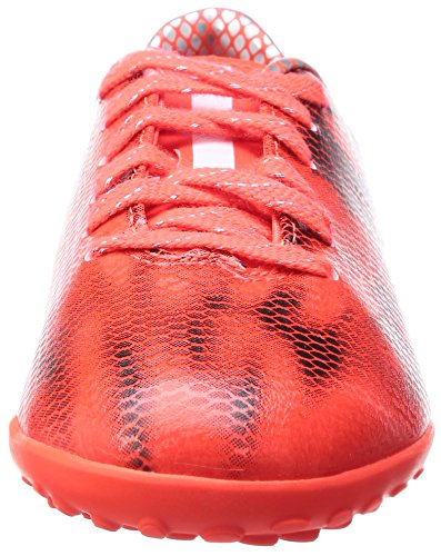 Adidas F10 Turf, Chaussures de Football Garçon Rouge (solar Red/ftwr White/core Black)