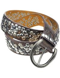 Bags4Less Nieten Gürtel im Vintage Style / Nietengürtel Model: LK_185