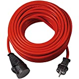 Brennenstuhl Bremaxx verlengkabel (25 m kabel, voor kortstondig gebruik buitenshuis IP44) 25 M rood