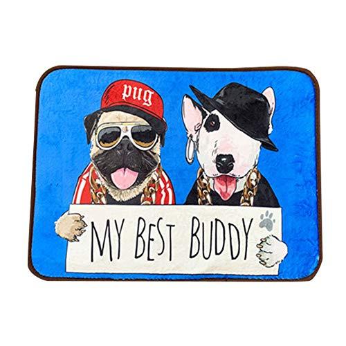 Shuda Hund Cool Matte-Beide Seiten Kühlung Gel-Matte Pads Pet Cat Cool Betten für Hundeboxen, Zwinger und Betten