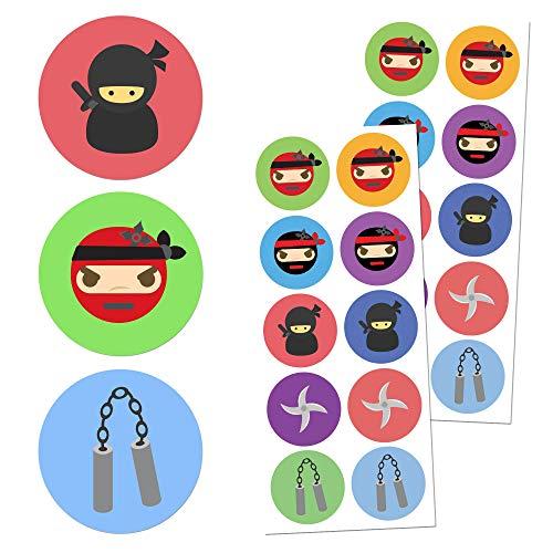 r Aufkleber Sticker Set - 10 Designs, 20 Blätter, 200 Stücke ()