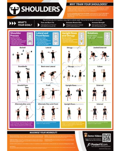 Shoulders Exercise Wall – Fitness Planners