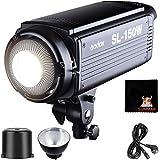 GODOX SL-150W LED Luz Video 150W Foco Led 5600K Gran Potencia Bowens Mount para fotográfico Estudio Video Youtube Video Foto