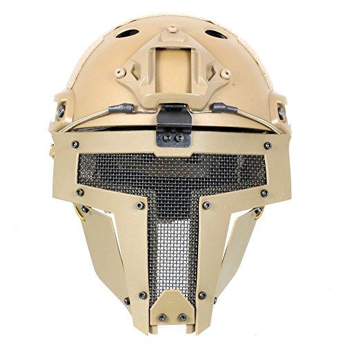 Fast Helm mit Spartan Maske ()