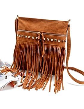 FEITONG Frauen Handtaschen Schul