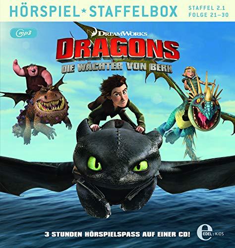 Dragons - Die Wächter von Berk - mp3-Staffelbox 2.1 (Folgen  - Das Original-Hörspiel zur TV-Serie
