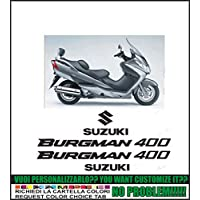 ability to customize the colors Kit adesivi decal stikers SUZUKI BURGMAN 400 FORMANUDESIGN