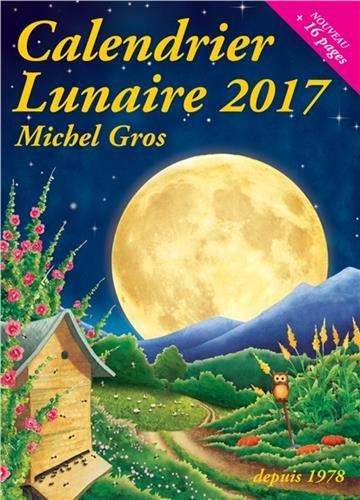 Calendrier lunaire par Michel Gros