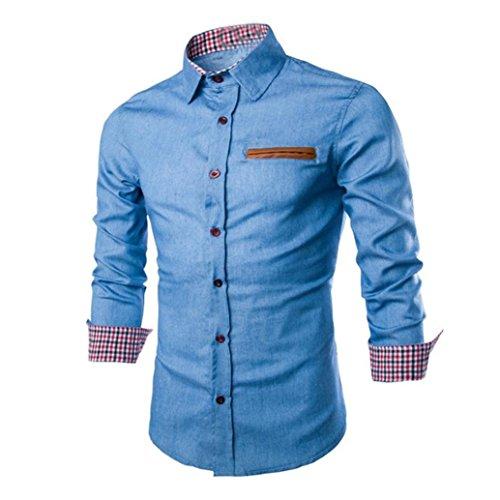 manadlian Camisa Manga Corta Hombre Estampada Camisa De Manga Corta Impresa Letra Moda para Hombre Camiseta Casual Slim Tops De Verano para Hombre Blusa