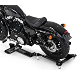 Rail de Rangement pour Harley Davidson Sportster Forty-Eight 48 (XL 1200 X) ConStands M2 noir