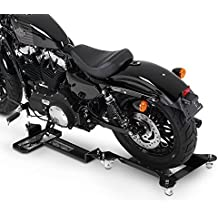 Peana Aparcamiento Moto Kawasaki Vulcan 900 Custom ConStands M2 negro