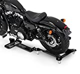 Pedana Sposta Moto per Harley Davidson Sportster Forty-Eight 48 (XL 1200 X) ConStands M2 nero