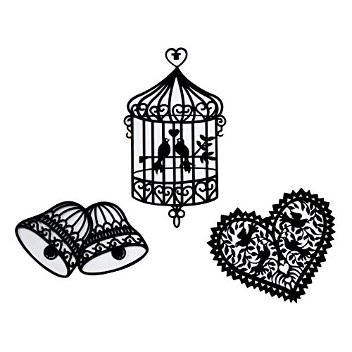 AsianHobbyCrafts Laser Cut Outs Non Adhesive Embellishments by Eno Greeting for Scrapbooking, HobbyCrafts, Border Making etc.
