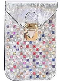 Kézitáska Women Top Handle Satchel Handbags Shoulder Bag Top Purse Messenger Tote Bag Travel Duffle Bag - B077CSWXLQ