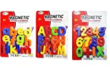 #5: GurujiSales 65 Pieces Magnetic Learning Capital & Small Alphabets And Numbers Set For Kids.