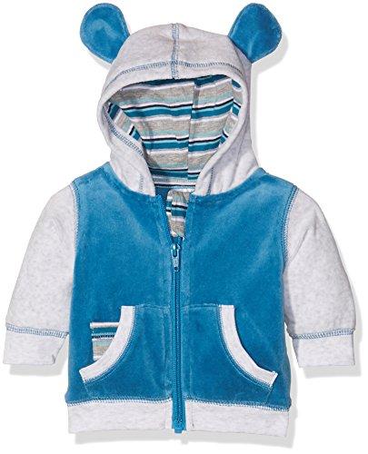 Julius Hüpeden GmbH Twins Unisex Baby Jacke aus Velours, Mehrfarbig (Mehrfarbig 3200), 68