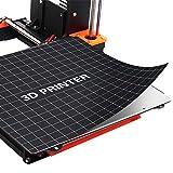 Aibecy 3D Druck Bett Oberfläche Wärmebett Plattform Aufkleber Band Blatt für Creality Ender-3 3D Drucker Zubehör