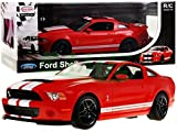 RASTAR RC Ferngesteuertes Auto Ford Shelby Mustang Gt500 1:14 - Rot