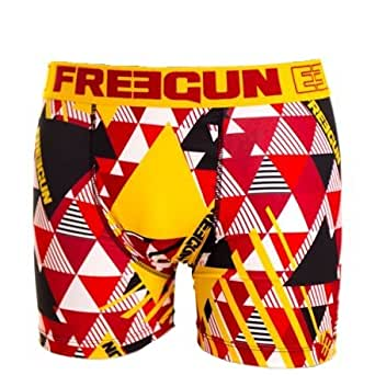FREEGUN Boxer homme BAG - Medium, Rouge