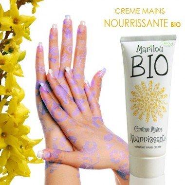 Marilou Bio Crème pour Mains Tube de 75 ml