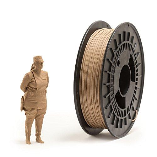 EUMAKERS ftecd-1d-wood filamentos de Pla, madera 1.75mm