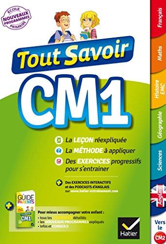 Tout Savoir CM1