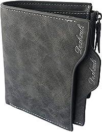 36cd5c5da327e 2018 Mens Wallet Bifold Business Casual Slim Organizer PU Leather Wallet  Card Holder Case Purse for