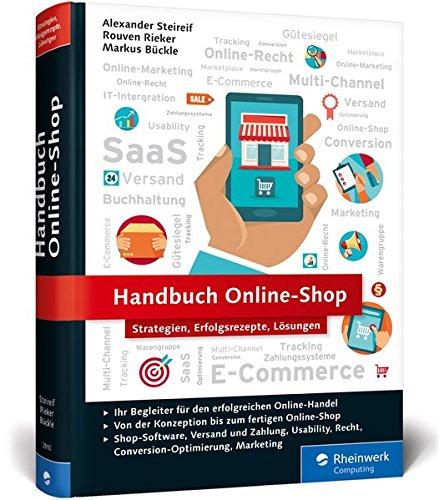 Handbuch Online-Shop: Erfolgsrezepte für den Online-Handel Buch-Cover