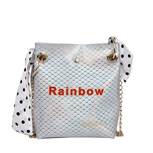 Mitlfuny handbemalte Ledertasche, Schultertasche, Geschenk, Handgefertigte Tasche,Frauen-Schal-dekorative bunte Eimer-Taschen-gestreifte Kuriertaschen -