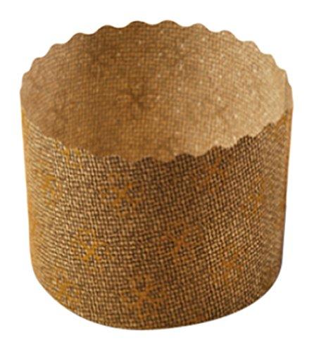 Garcia de pou 2000 unité Panettone Cuisson Moules en boîte, 6 x 4.5 cm, Papier, Marron, 30 x 30 x 30 cm