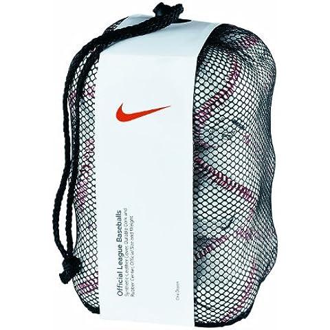 Nike NMB Baseball dozzina (Bianco/Nero)