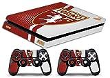 skin ps4 slim - fc torino ultras calcio - limited edition decal cover adesiva playstation 4 slim sony bundle