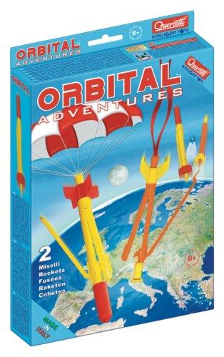 Quercetti 3180 Orbital Adventure - Cohetes (juego de 2)