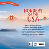 Front cover for the book Wonders of the USA (Shine-a-Light) by Carron Brown