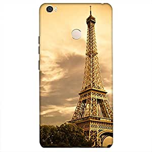 Bhishoom Designer Printed Back Case Cover for Xiaomi Mi Max, Max (Eiffel Tower Of Paris)