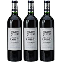Château Laubes France Bordeaux Vin AOP 750 ml - Lot de 3