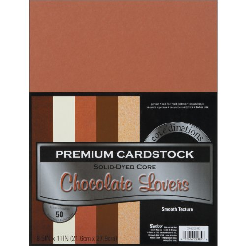 Darice Core'dinations Value Pack Smooth Cardstock 8.5