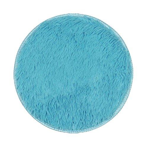 FAMILIZO Inicio Tienda Alfombras Espesas Alfombras Circulares Comedor Dormitorio Alfombra Alfombra Decoraciones (Cielo azul)