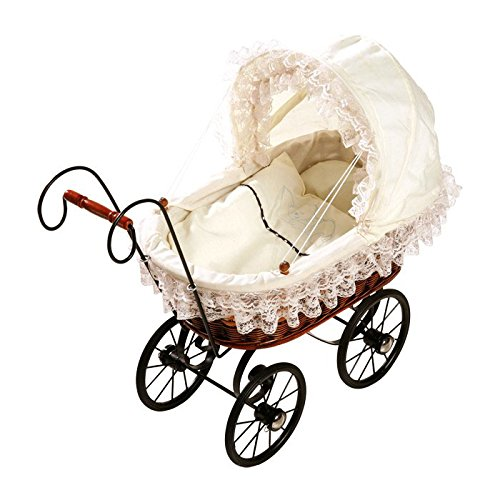 Small Foot Company - 8755 - Puppenwagen - Antiker Kinderwagen